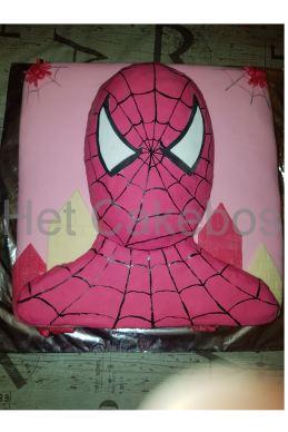 Roze spiderman